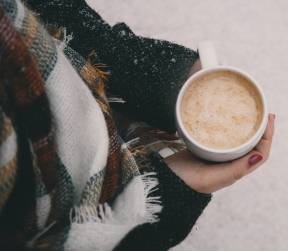Coffee:Scarf:Snow - Pexels