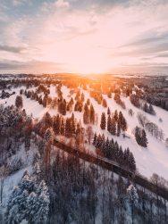 Snowy View - Pexels
